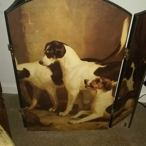 Fireplace Screen Jack Russell